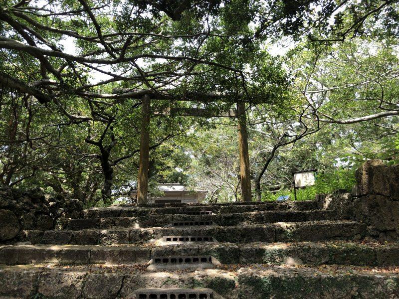 南山神社の鳥居