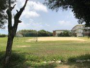隣の学校のグランド