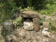南山城跡にある拝所