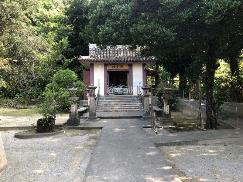 屋部寺の小堂