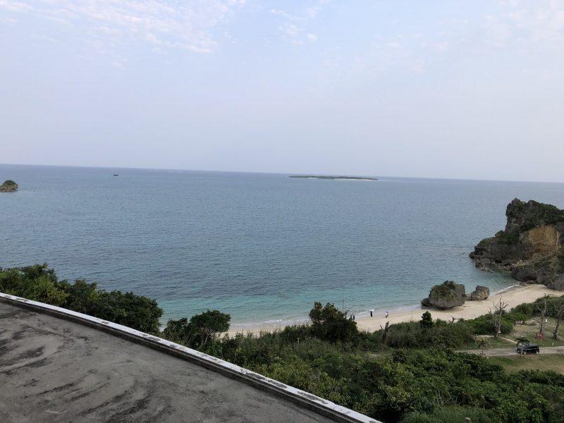 浜比嘉リゾートからの海
