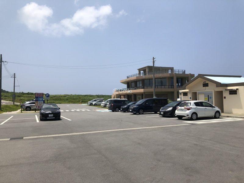 辺戸岬駐車場