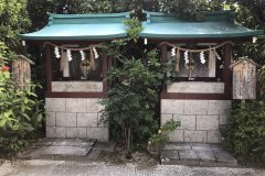 世持神社と浮島神社