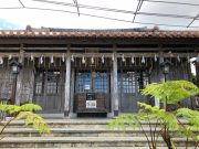 沖宮の拝殿